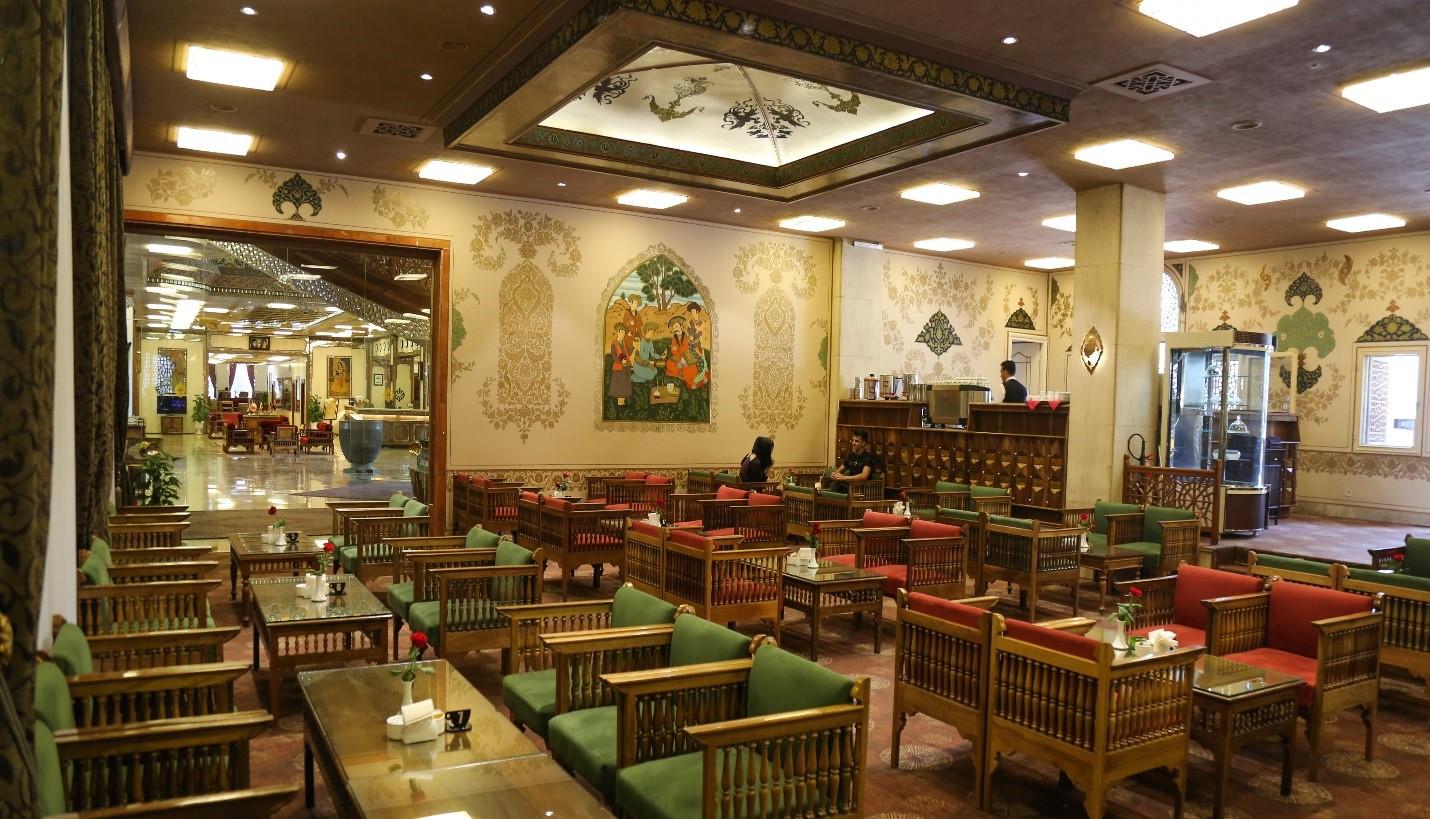 Naghshe Jahan Café of Abbasi Hotel