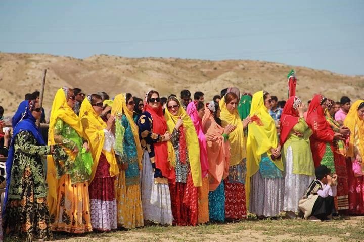 Bakhtiari nomad tribe in iran