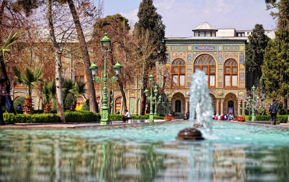 Courtyard of Golestan Palace