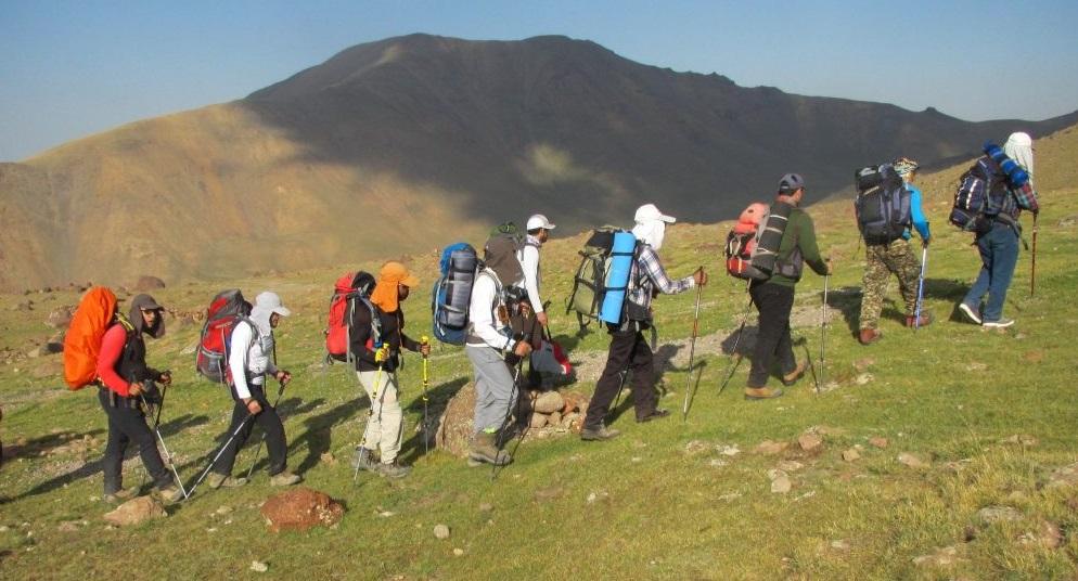 Trekking in Iran